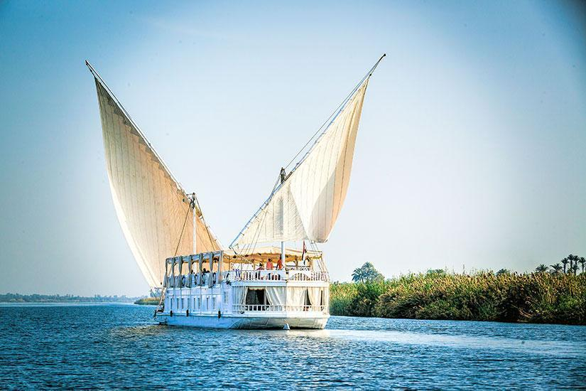 Dahabiya Amoura Nile Cruise