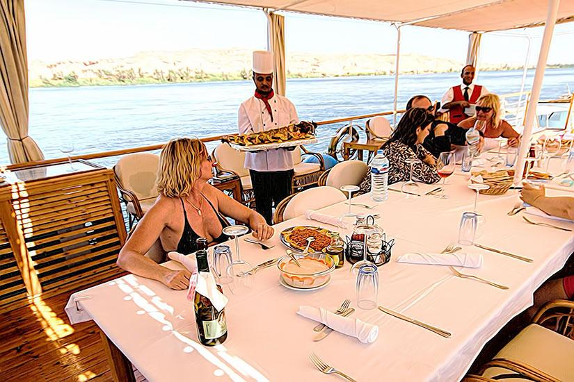 Dahabiya Princess Donia Nile Cruise