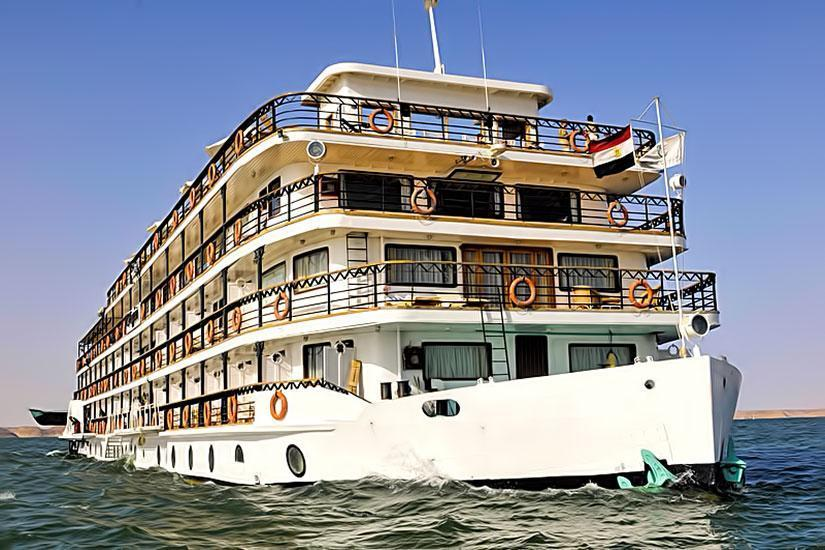 MS Eugenie Lake Nasser Nile Cruise