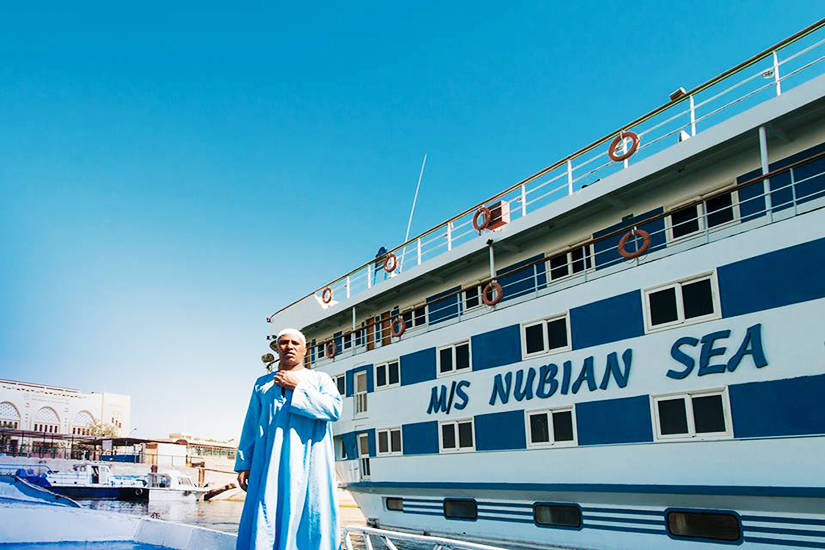 MS Nubian Sea Lake Nasser Nile Cruise