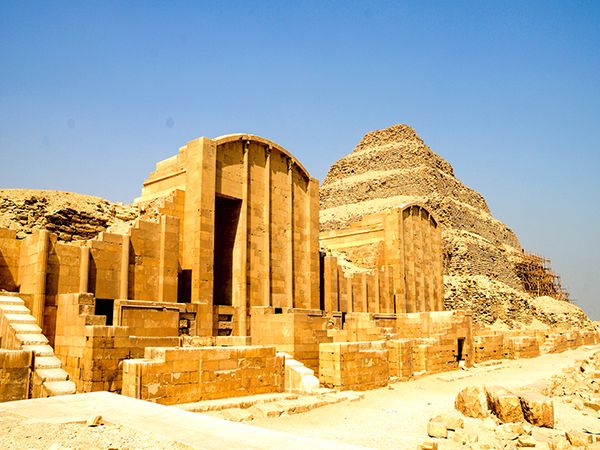 Cairo Sightseeing tours to Saqqara Pyramid, Memphis and Dahshur